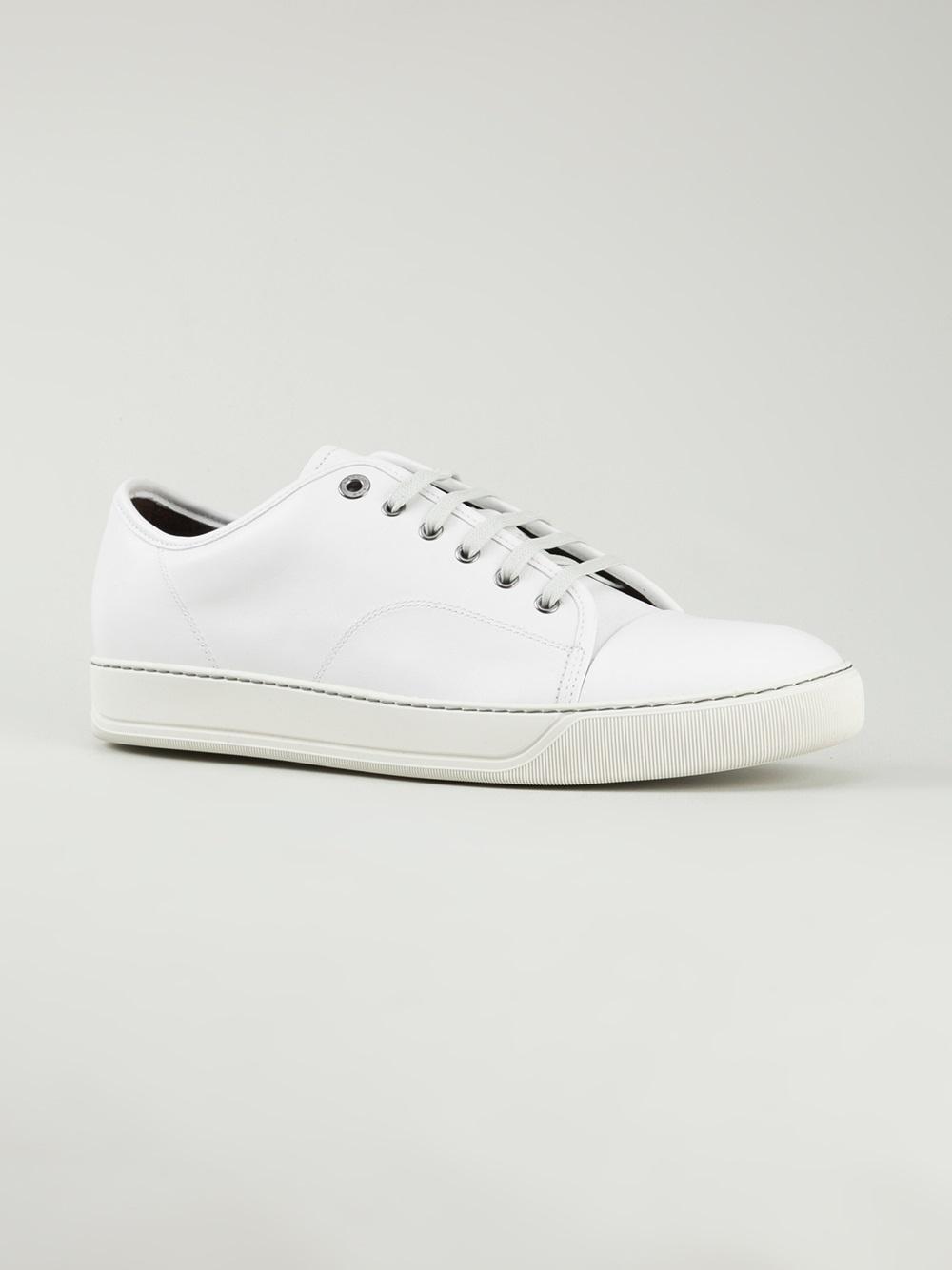 low-top sneakers - White Lanvin gii9MXTE