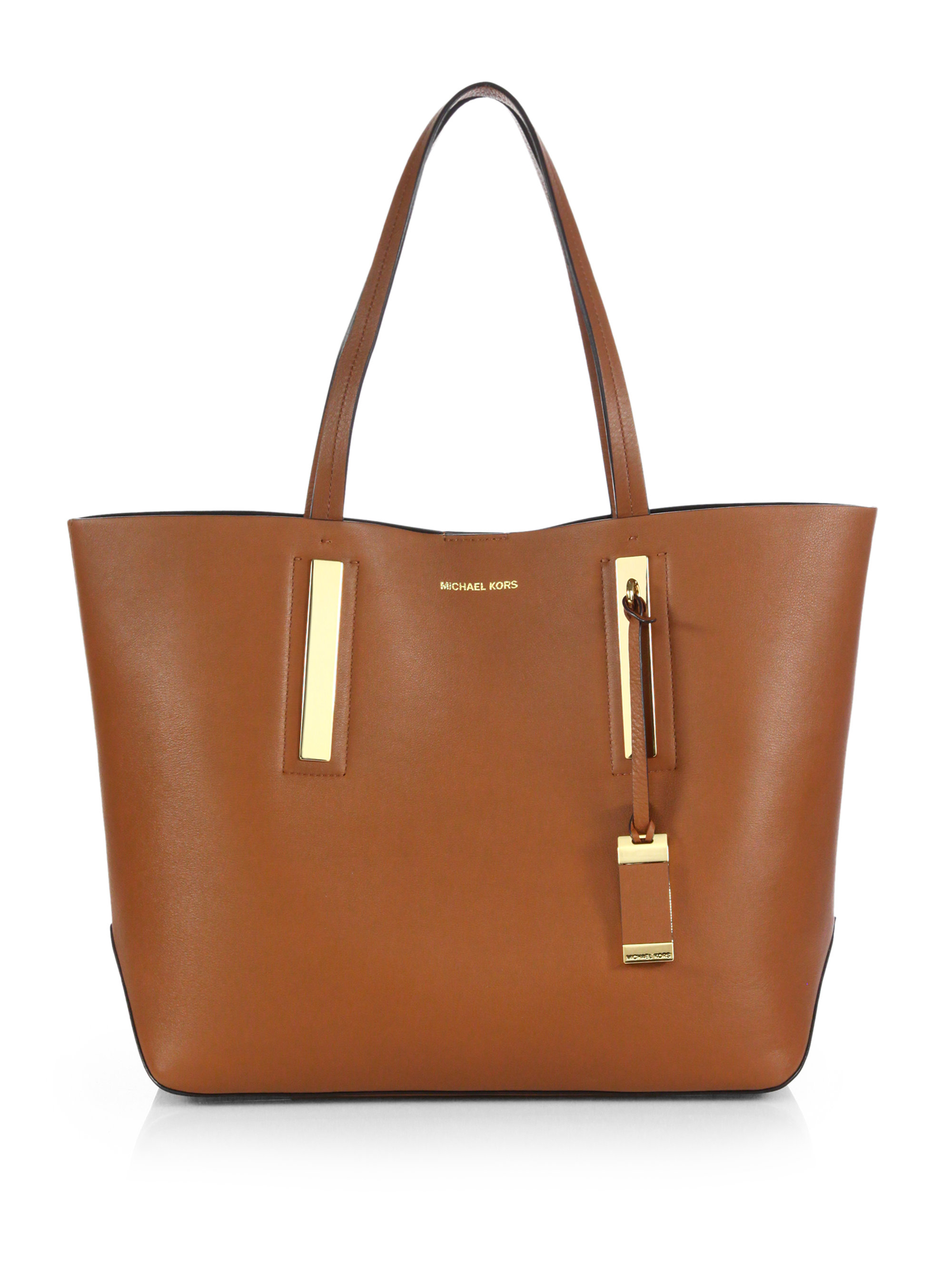 Michael Kors Laukut Pori : Michael kors jaryn large eastwest tote in brown lyst