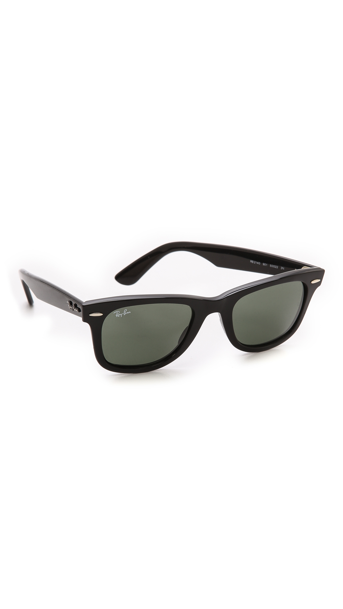 Ray-ban Original Wayfarer Sunglasses in Black for Men ...