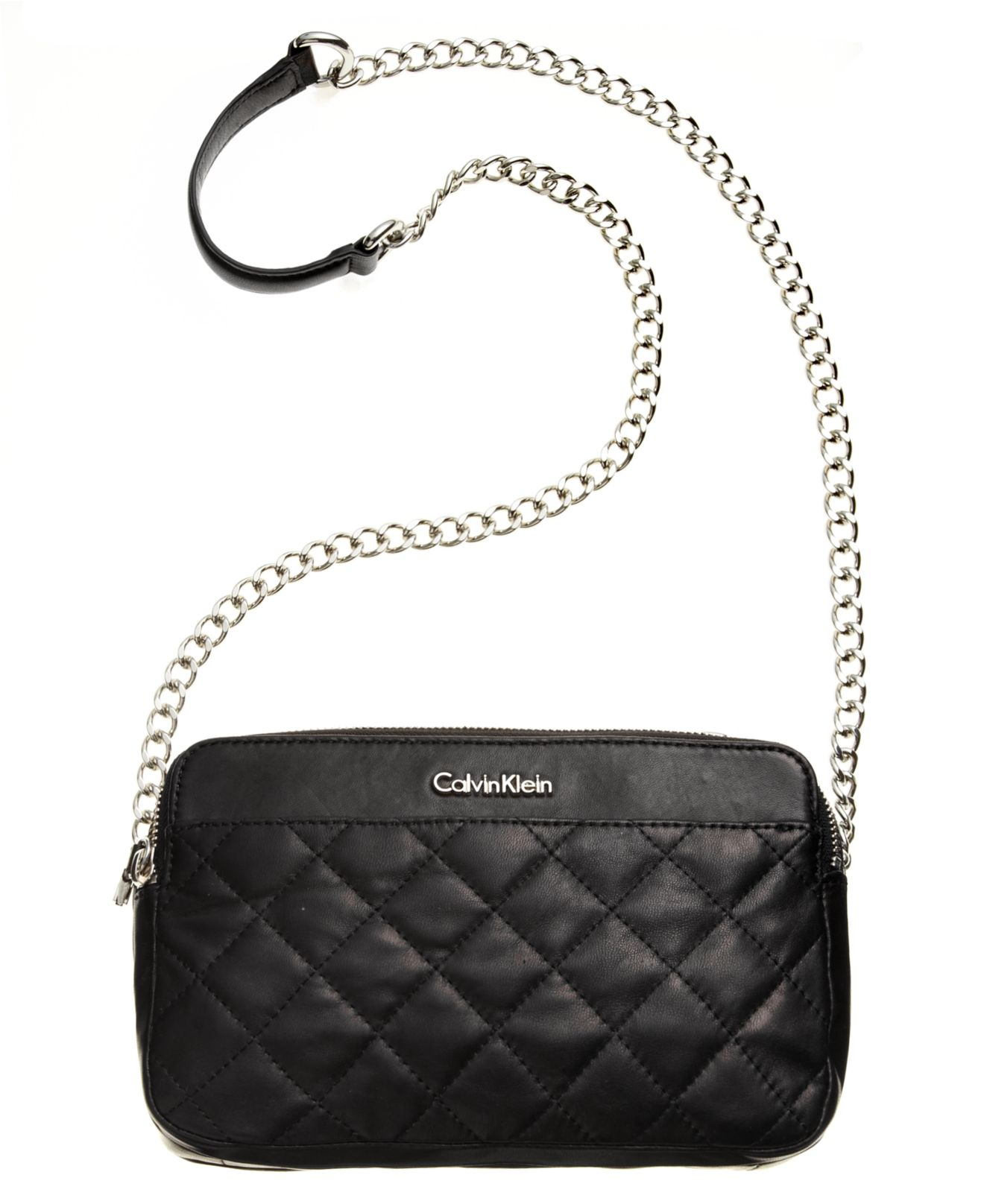 Lyst Calvin Klein Quilted Leather Convertible Crossbody