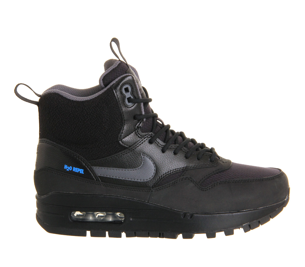 fósil Omitido Descompostura  Nike Air Max 1 Mid Sneakerboots Wmns in Black - Lyst