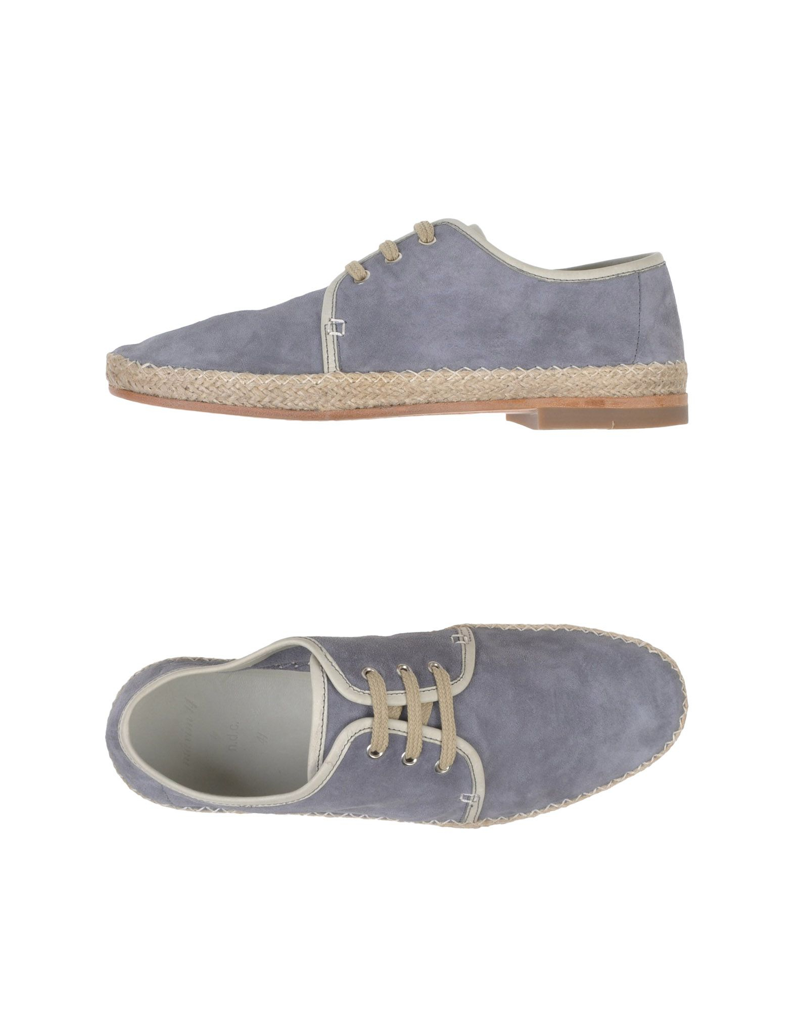 NDC Espadrilles in Slate Blue (Grey) for Men