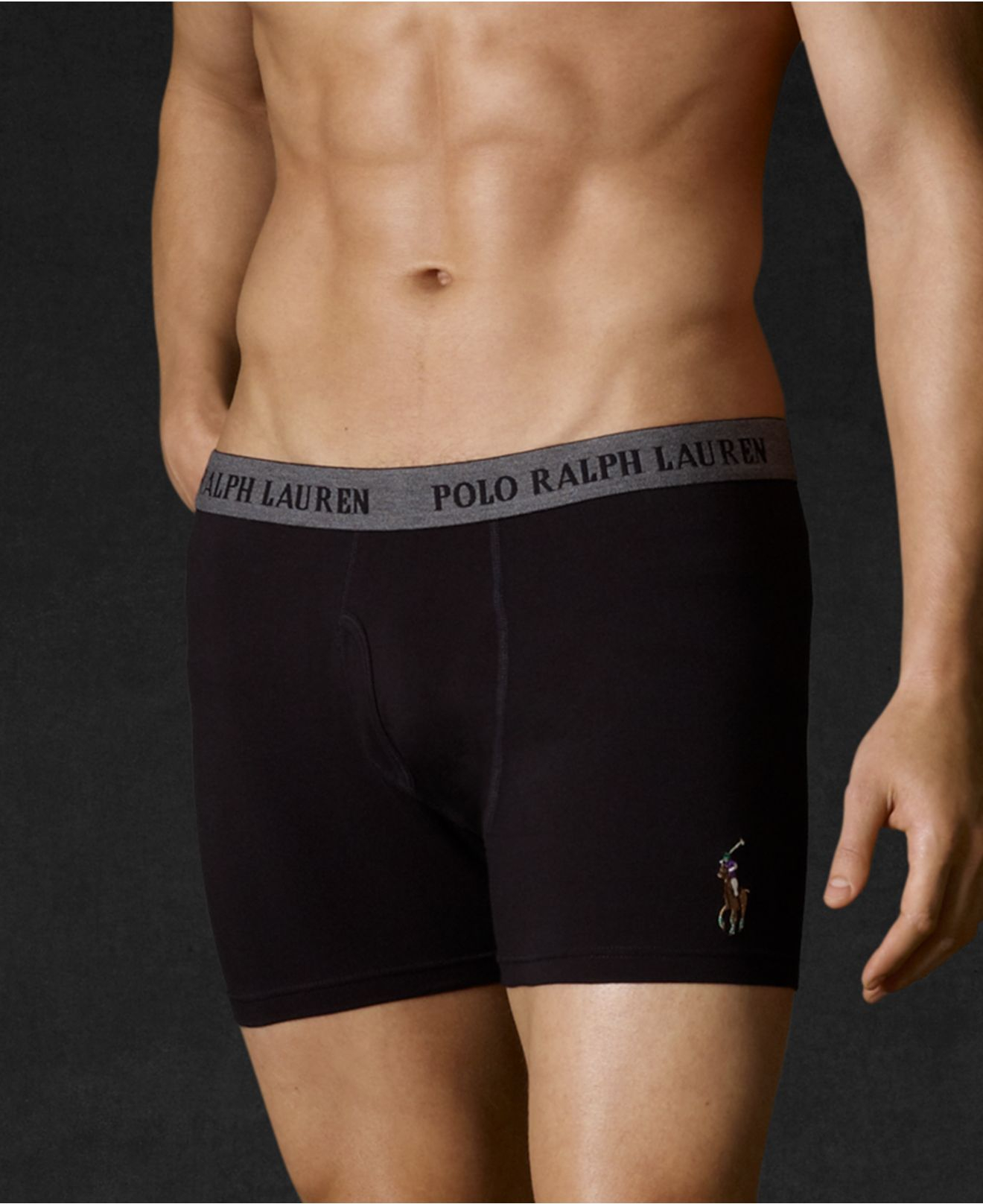 polo ralph lauren men 39 s stretch jersey boxer briefs in. Black Bedroom Furniture Sets. Home Design Ideas