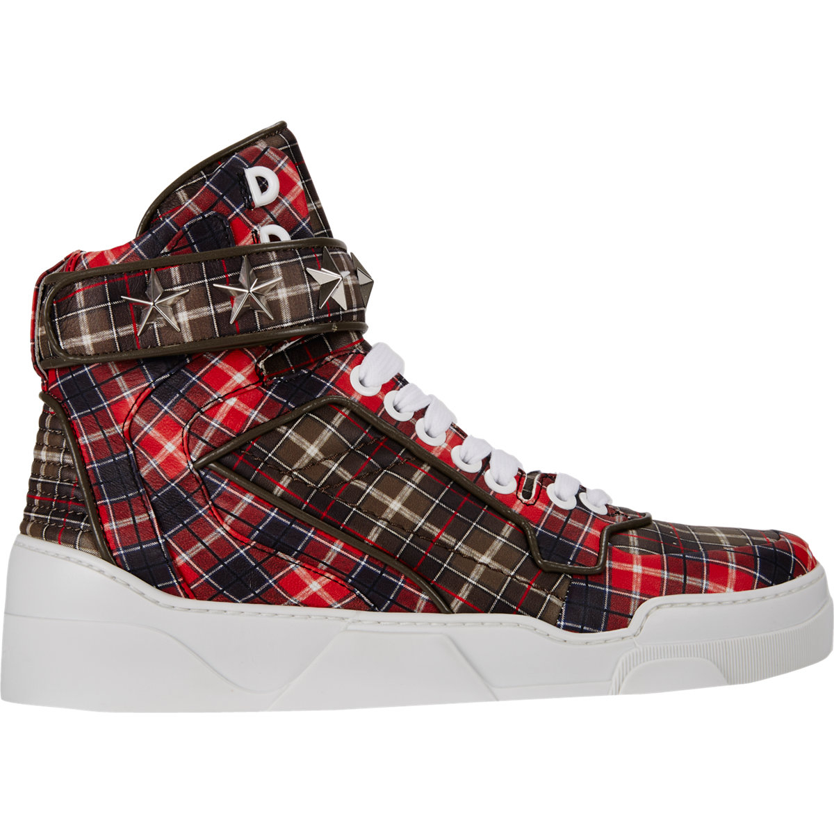 Tartan Plaid Flat Shoes