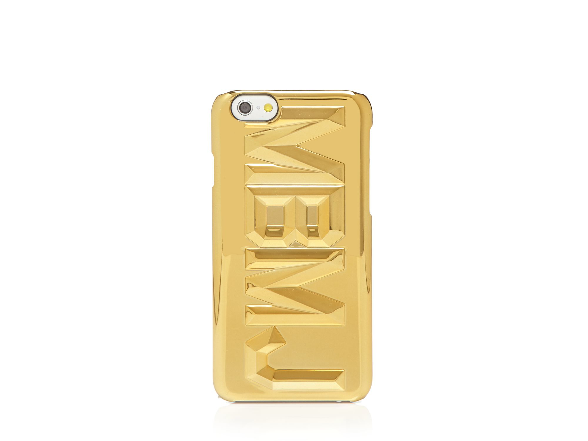 lyst marc by marc jacobs iphone 6 case faceted mbmj in. Black Bedroom Furniture Sets. Home Design Ideas
