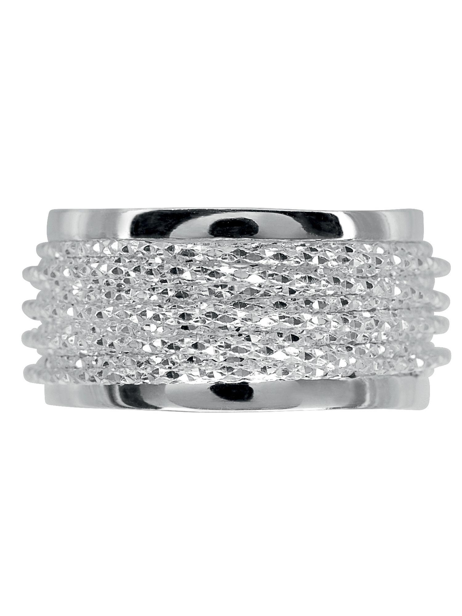 Links of London Celeste Silver Wrap Ring in Metallic