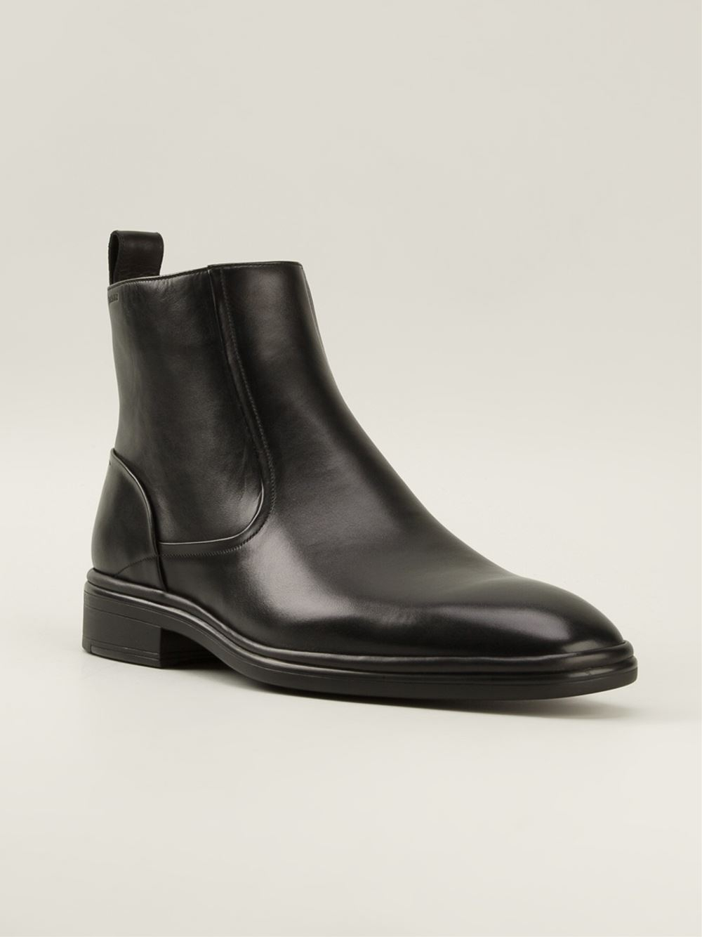 Lyst Bally Ankle Boots In Black For Men