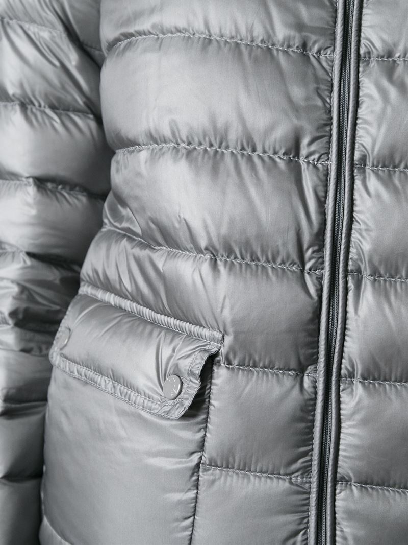 15bdb32e4 Moncler Gray Lans Quilted Jacket