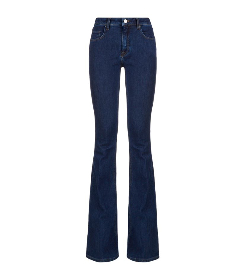 victoria beckham classic flare jeans in blue lyst. Black Bedroom Furniture Sets. Home Design Ideas