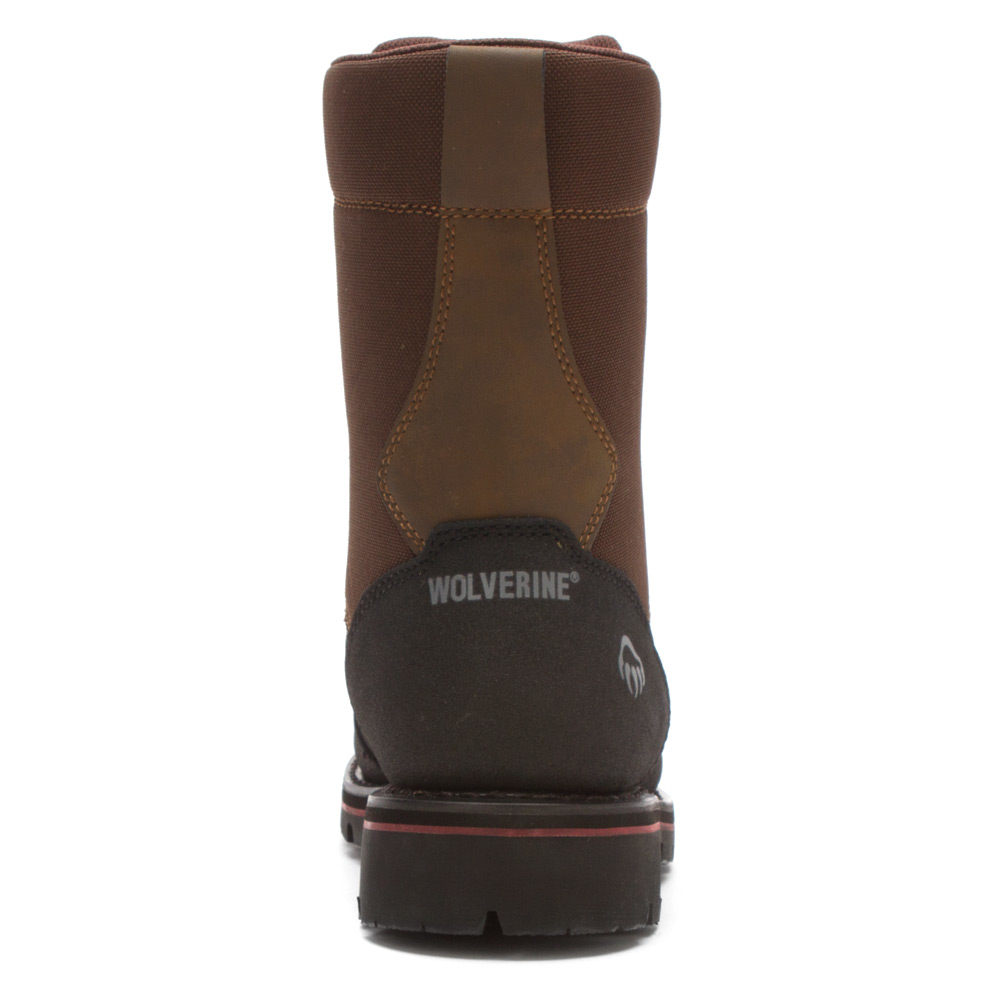 "ad2fd1e3021 Wolverine Black Drillbit Oil Rigger Armortekâ""¢ Waterproof St Eh Boa 8-inch  Boot for men"