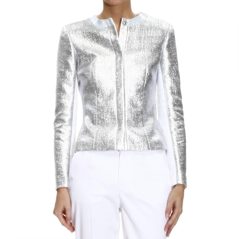 Silver jacket for women