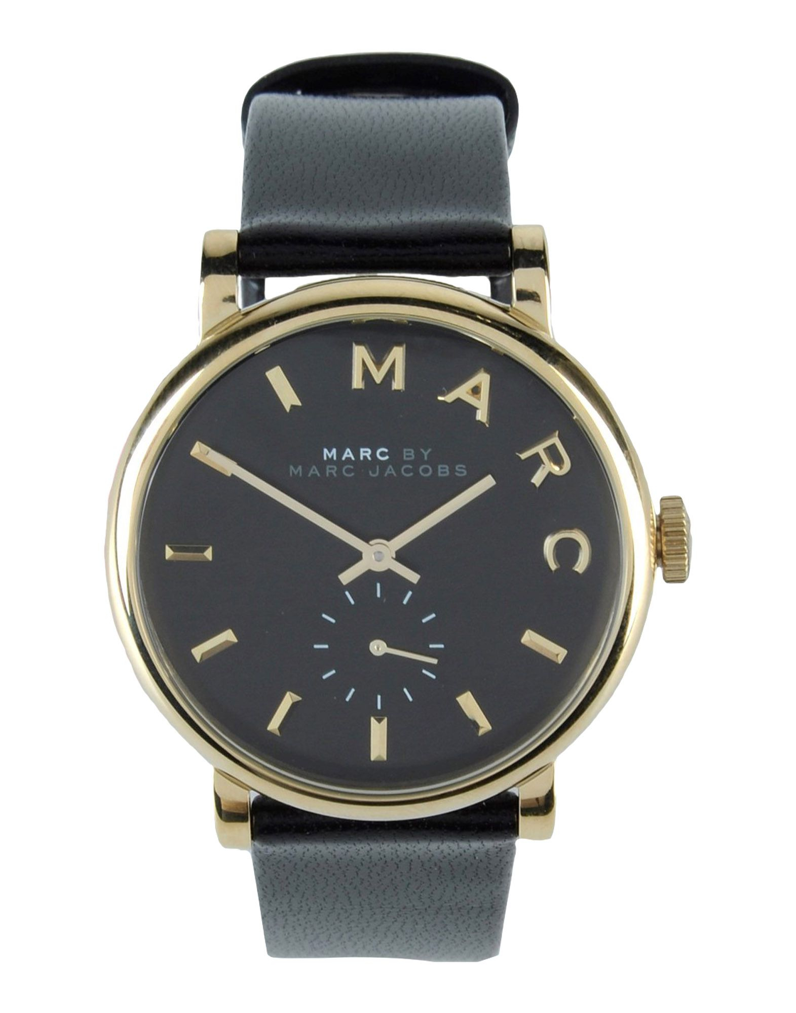 marc by marc jacobs wrist watch in black lyst. Black Bedroom Furniture Sets. Home Design Ideas