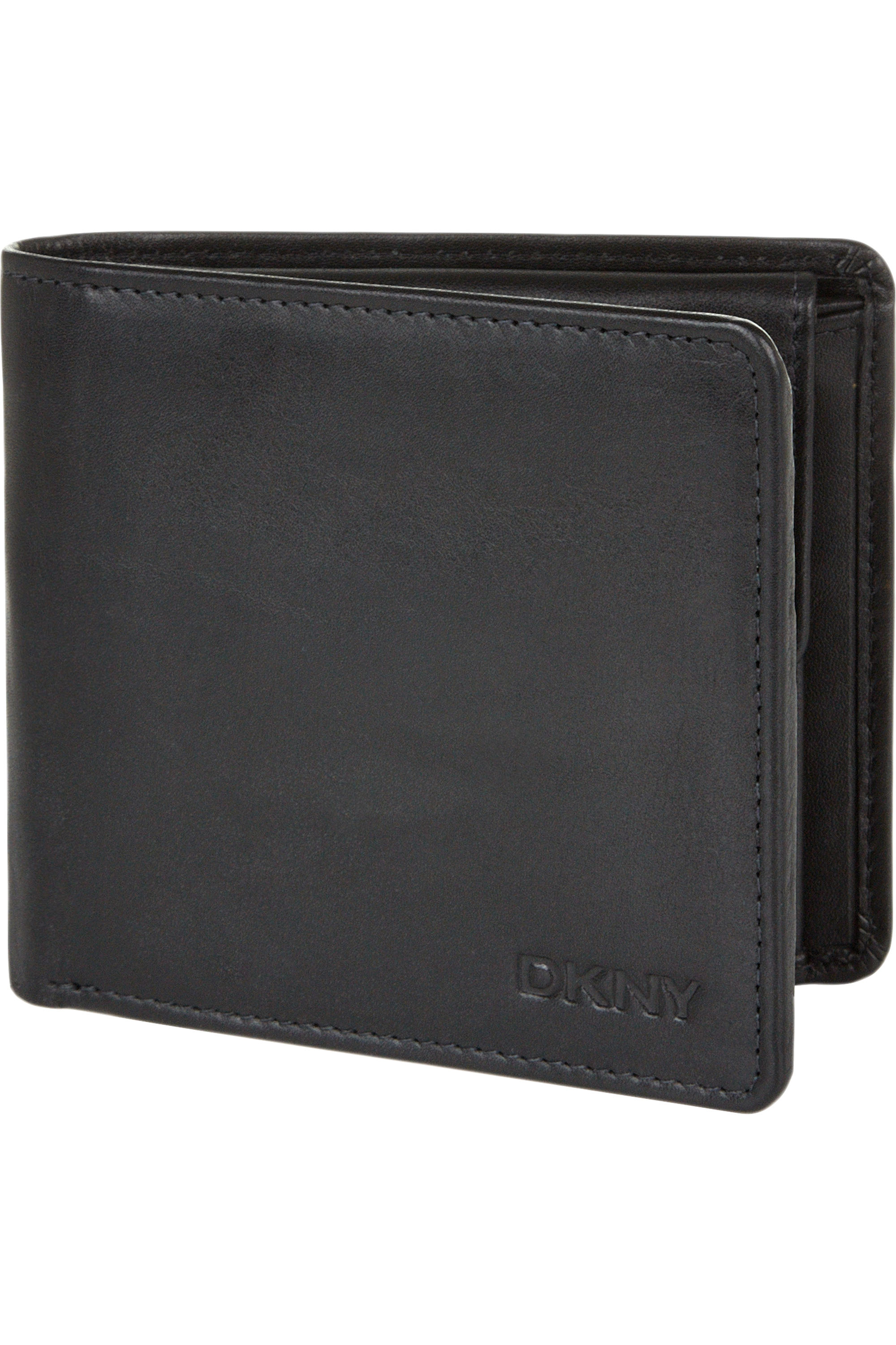 DKNY small square wallet in black saffiano leather | eBay |Dkny Wallet