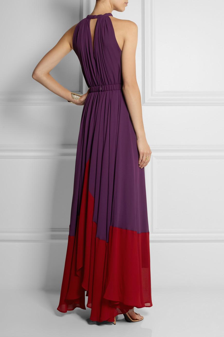 Iris Chiffon Dress