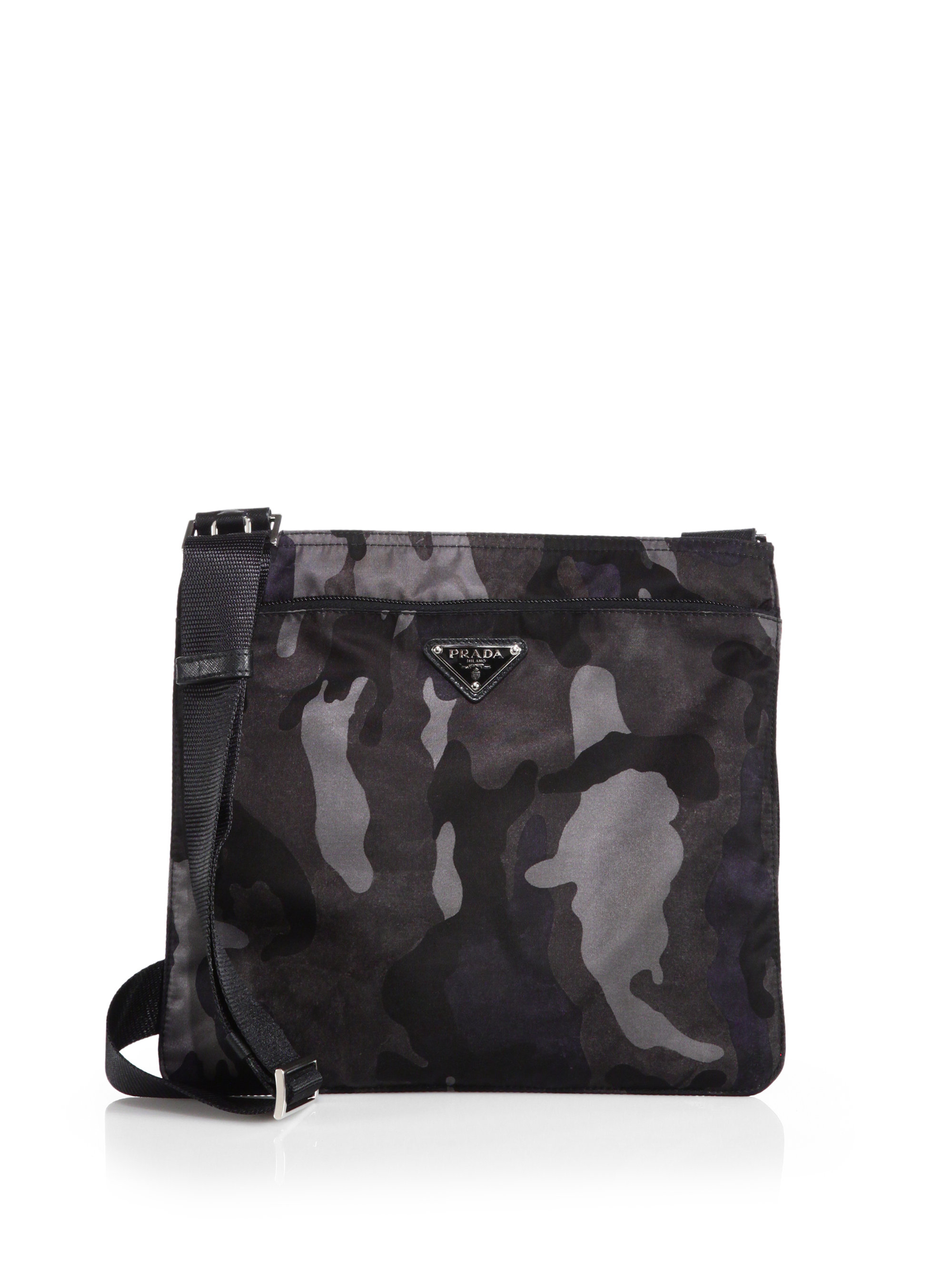 3f1e7724 store prada shoulder bedford green black 85574 e433e