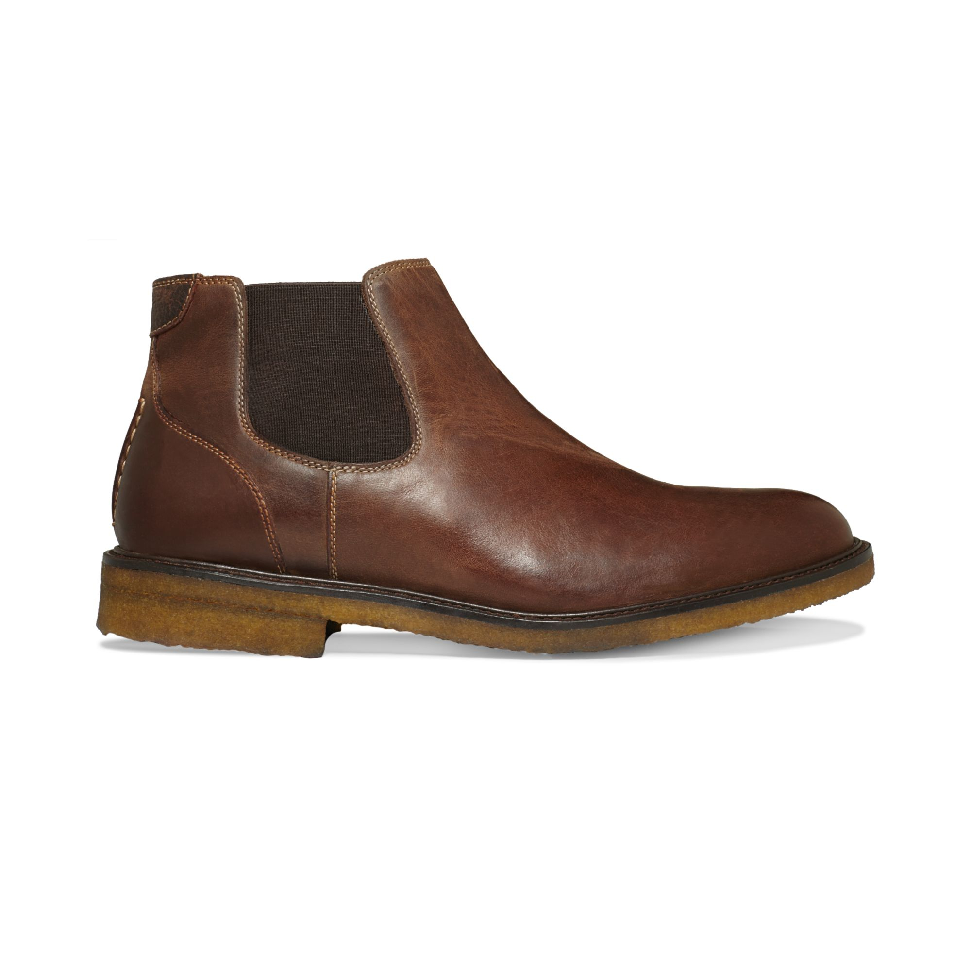 johnston murphy copeland boots in brown for
