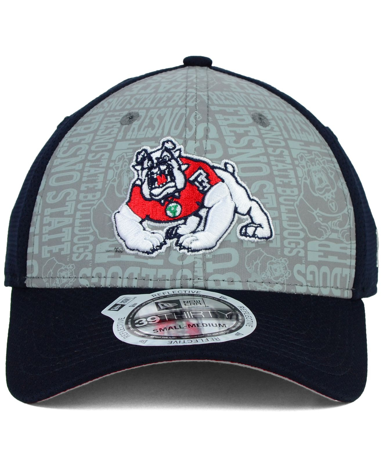 07ea13c4a0d Lyst - KTZ Fresno State Bulldogs Reflective Training 39Thirty Cap in ...
