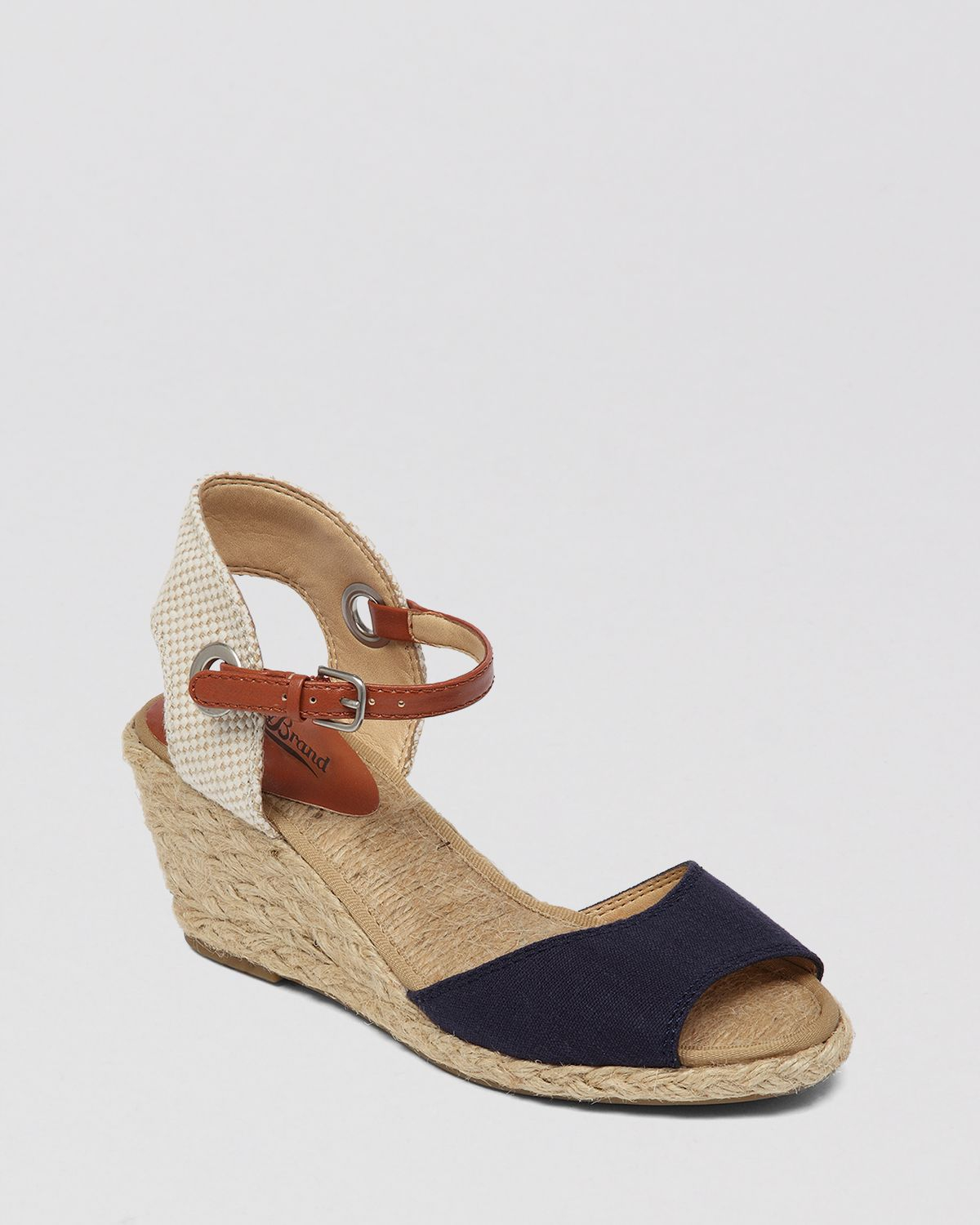 Lucky Brand Espadrille Wedge Sandals Kyndra In Black Lyst