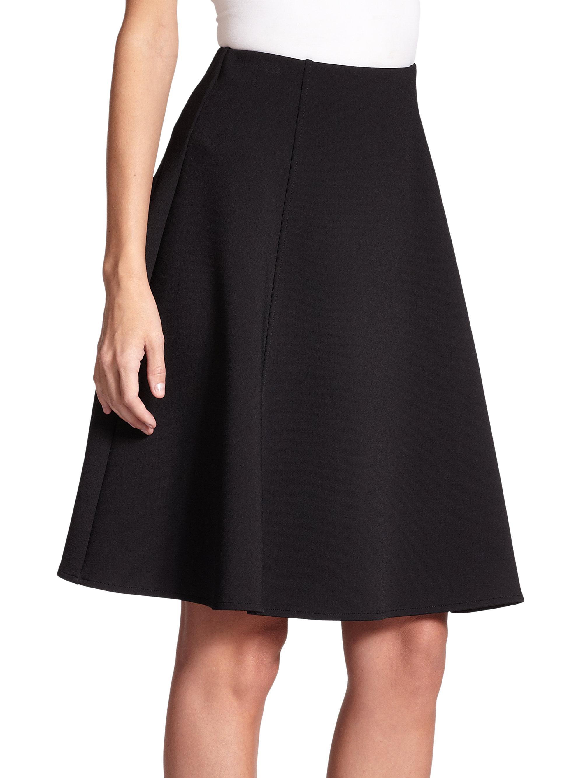 Black Knit Skirt 57