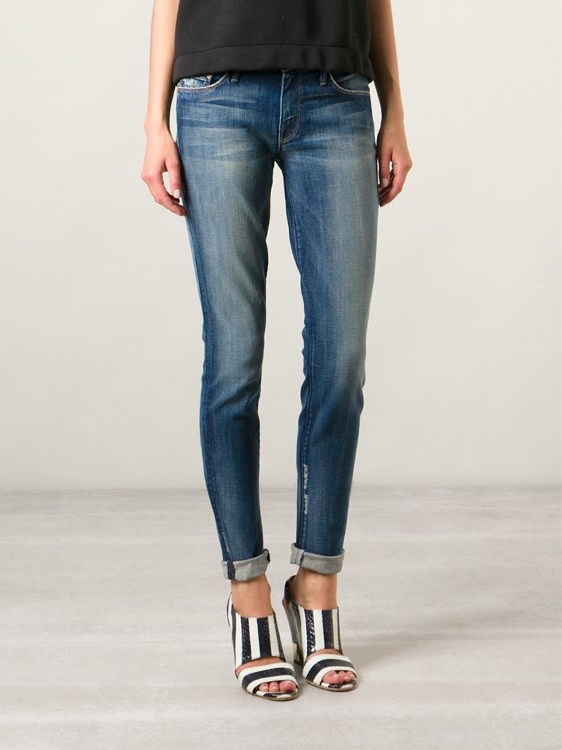 Mother Denim 'tequila Truth' Jeans in Blue
