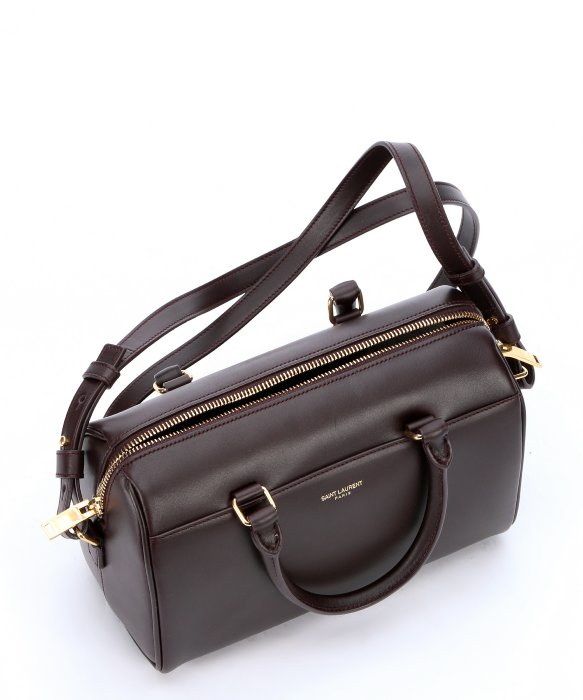 yves saint laurent discount handbags - Saint laurent Bordeaux Leather Convertible Mini Duffle Bag in ...