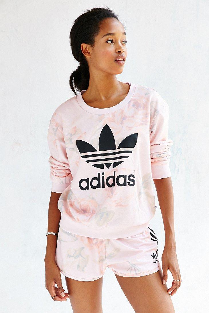 adidas pastel rose light