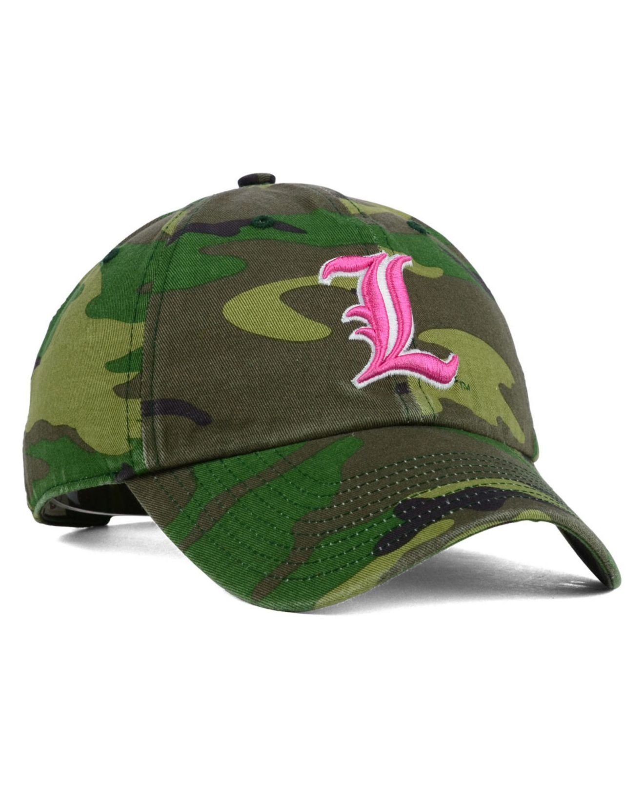 hot sales 7f6bf 3cca0 ... shop lyst 47 brand louisville cardinals fashion clean up cap in green  21fd5 43200