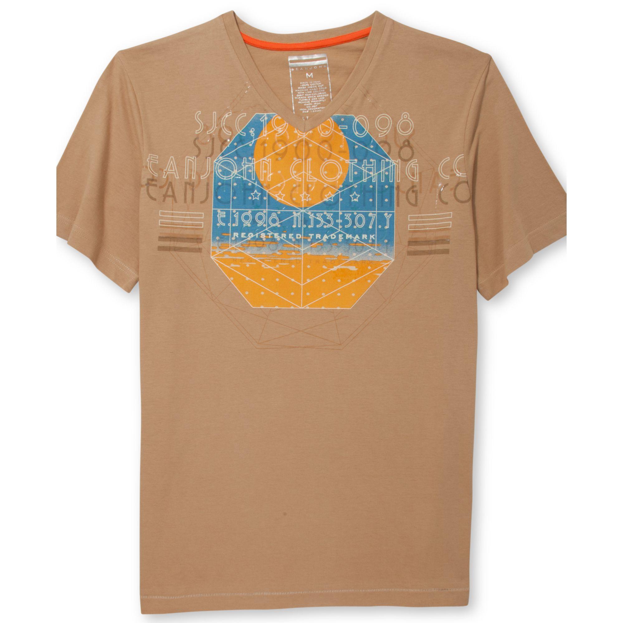 Sean John Sunscreen Tshirt In Brown For Men Silt Lyst