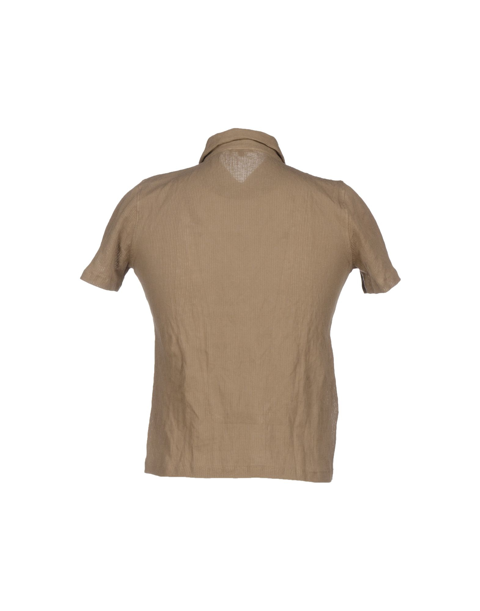 Cruciani polo shirt in brown for men lyst for Light brown polo shirt