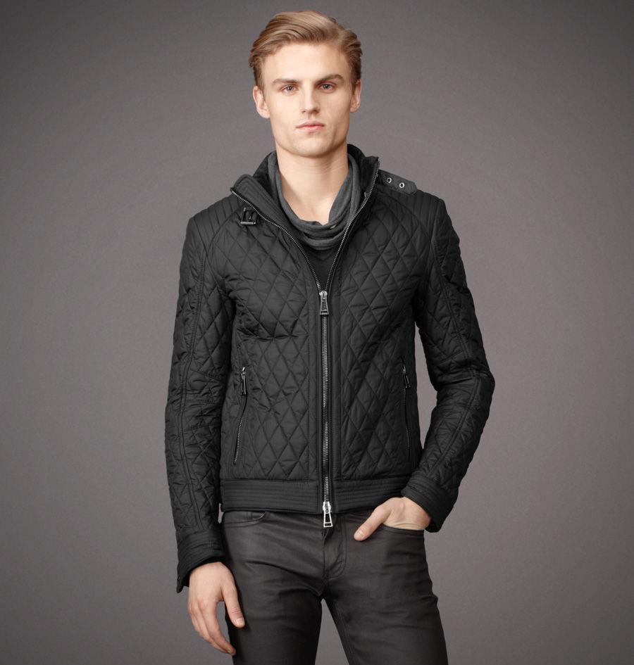 belstaff bramley jacket in lightweight technical quilt in. Black Bedroom Furniture Sets. Home Design Ideas
