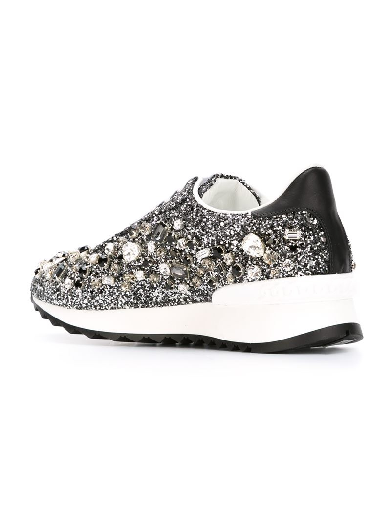 Glittery sneakers Casadei Perfect With Credit Card Cheap Online Outlet Comfortable Best Wholesale Sale Online Cheap Lowest Price ZTGwUNP5qU