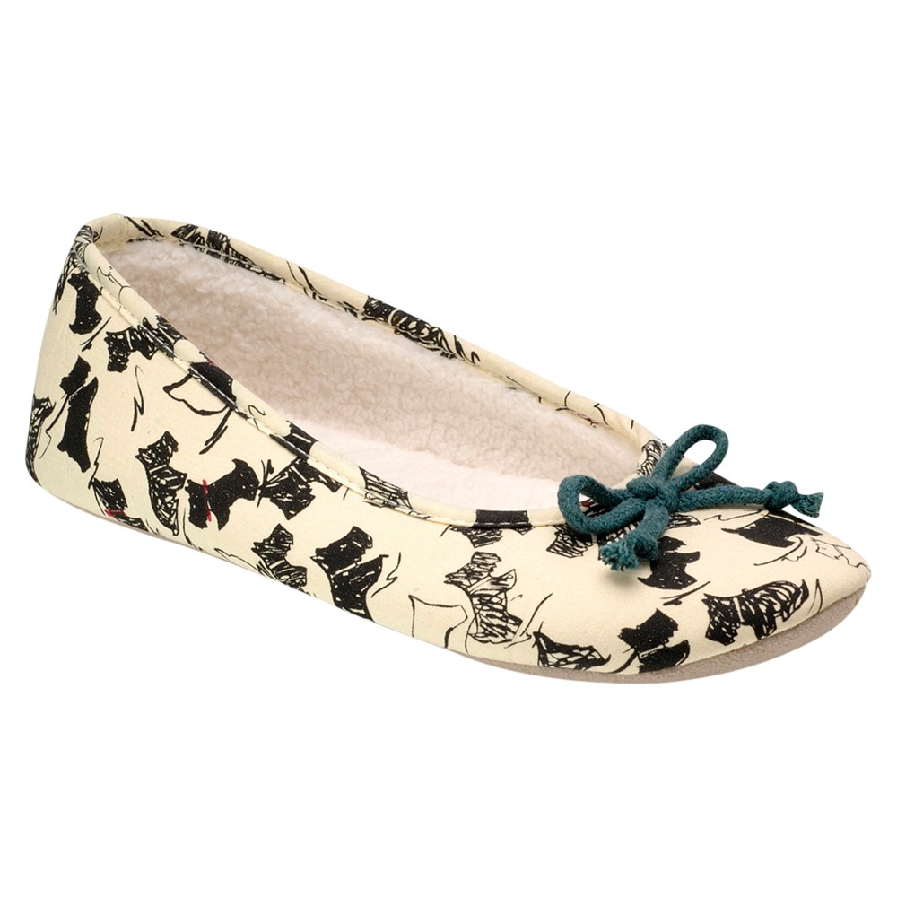 Radley Dog Knitting Pattern : Radley Doodle Dog Ballerina Slippers in Green Lyst