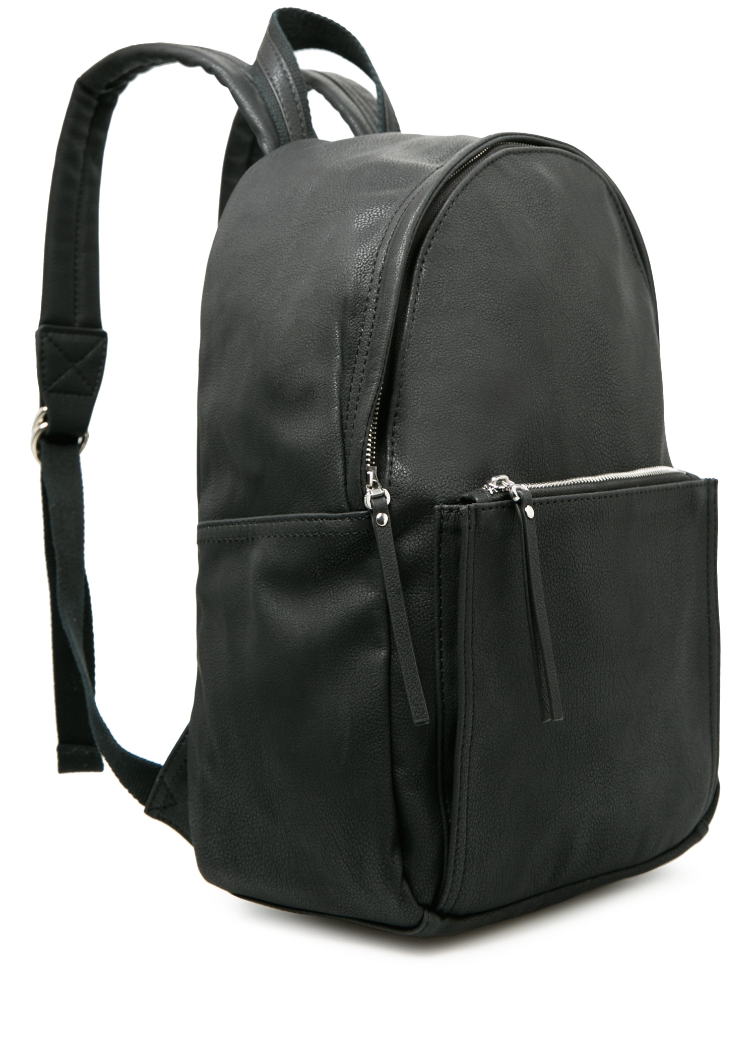 bb96eb6ca25 Mango Pebbled Backpack in Black for Men - Lyst