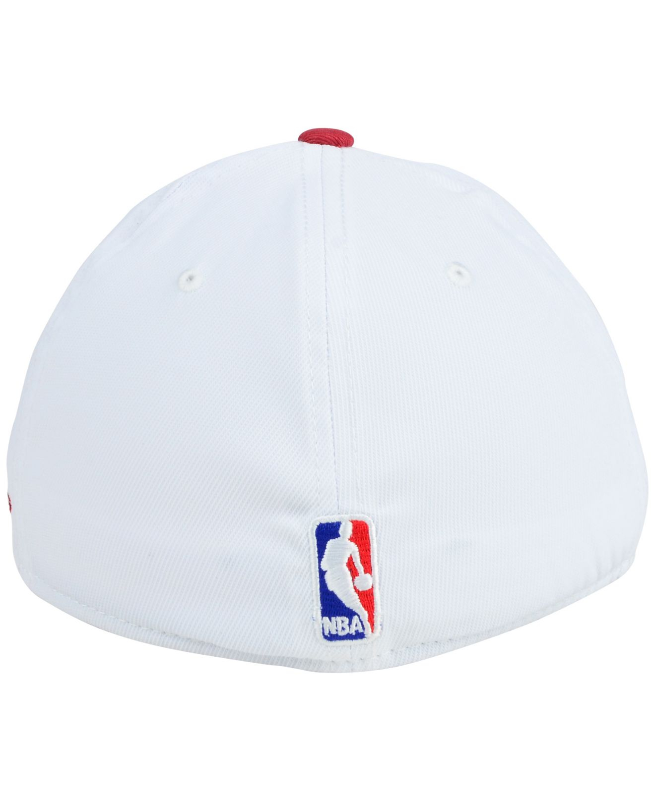 the best attitude 852f0 639c3 ... inexpensive lyst adidas miami heat nba timeout flex cap in white for men  ec6bc b0481