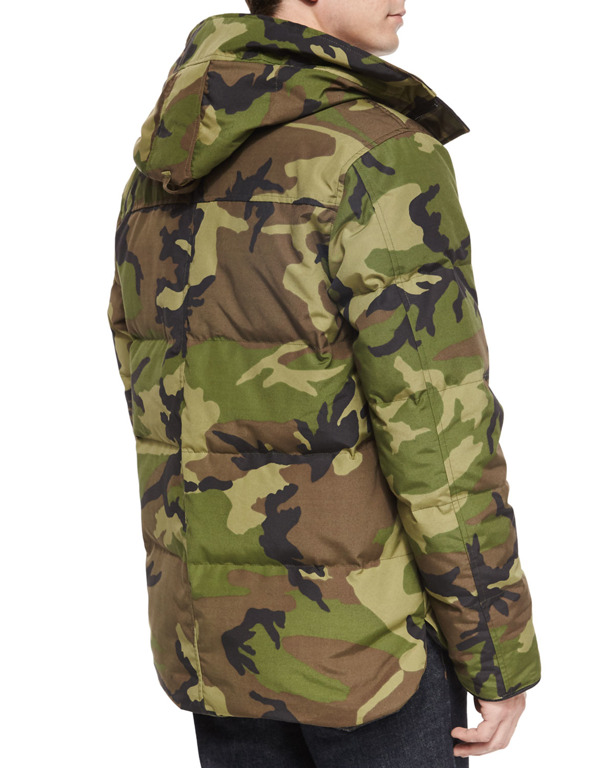 Canada Goose hats online official - Canada goose Macmillan Hooded Parka Coat in Natural for Men (GREEN ...
