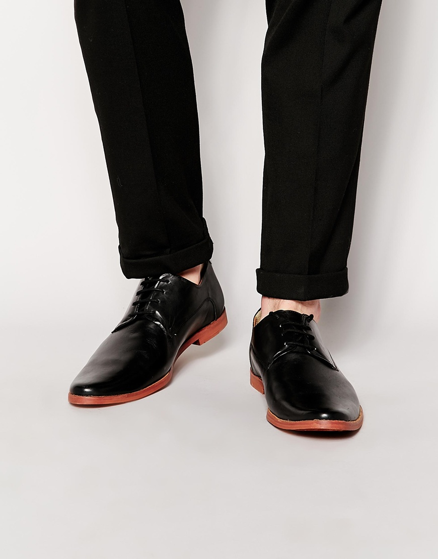 Derby Shoes In Patent Leather - Black Frank Wright AlsoiJN