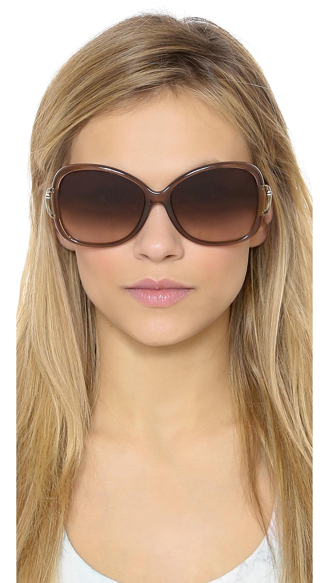 fd1ae134ff Lyst - Michael Kors Bora Bora Sunglasses - Black grey Gradient in Brown