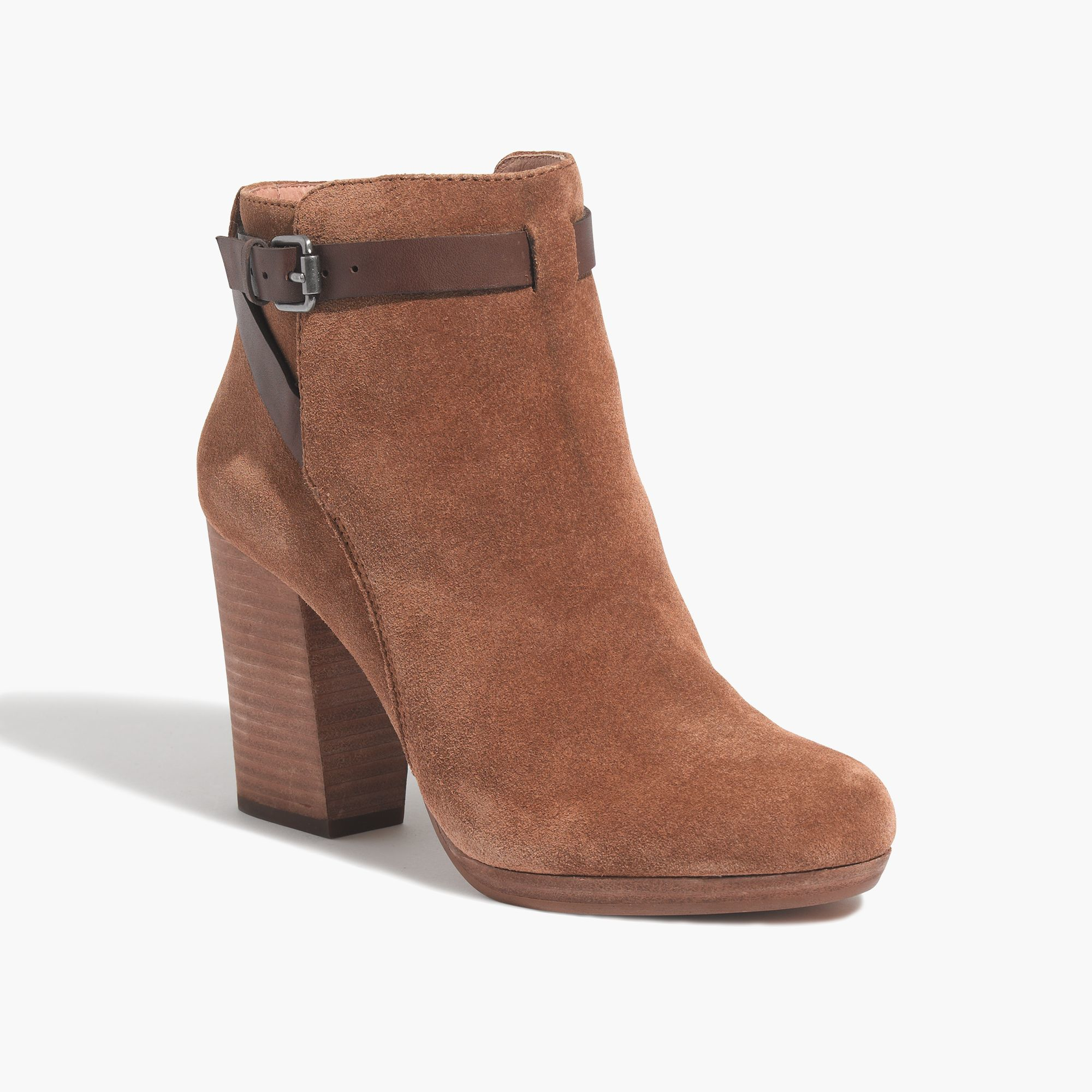 madewell the aimee ankle boot in brown truffle lyst