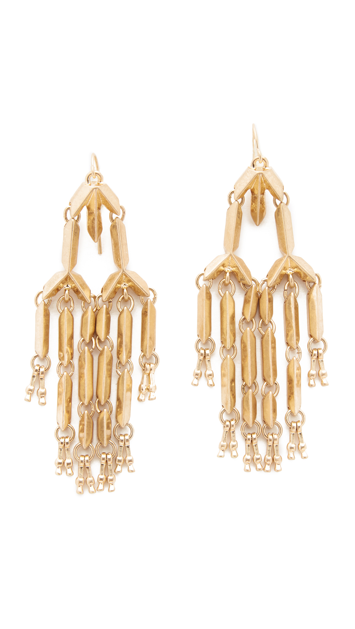 Adia kibur Olivia Chandelier Earrings in Metallic