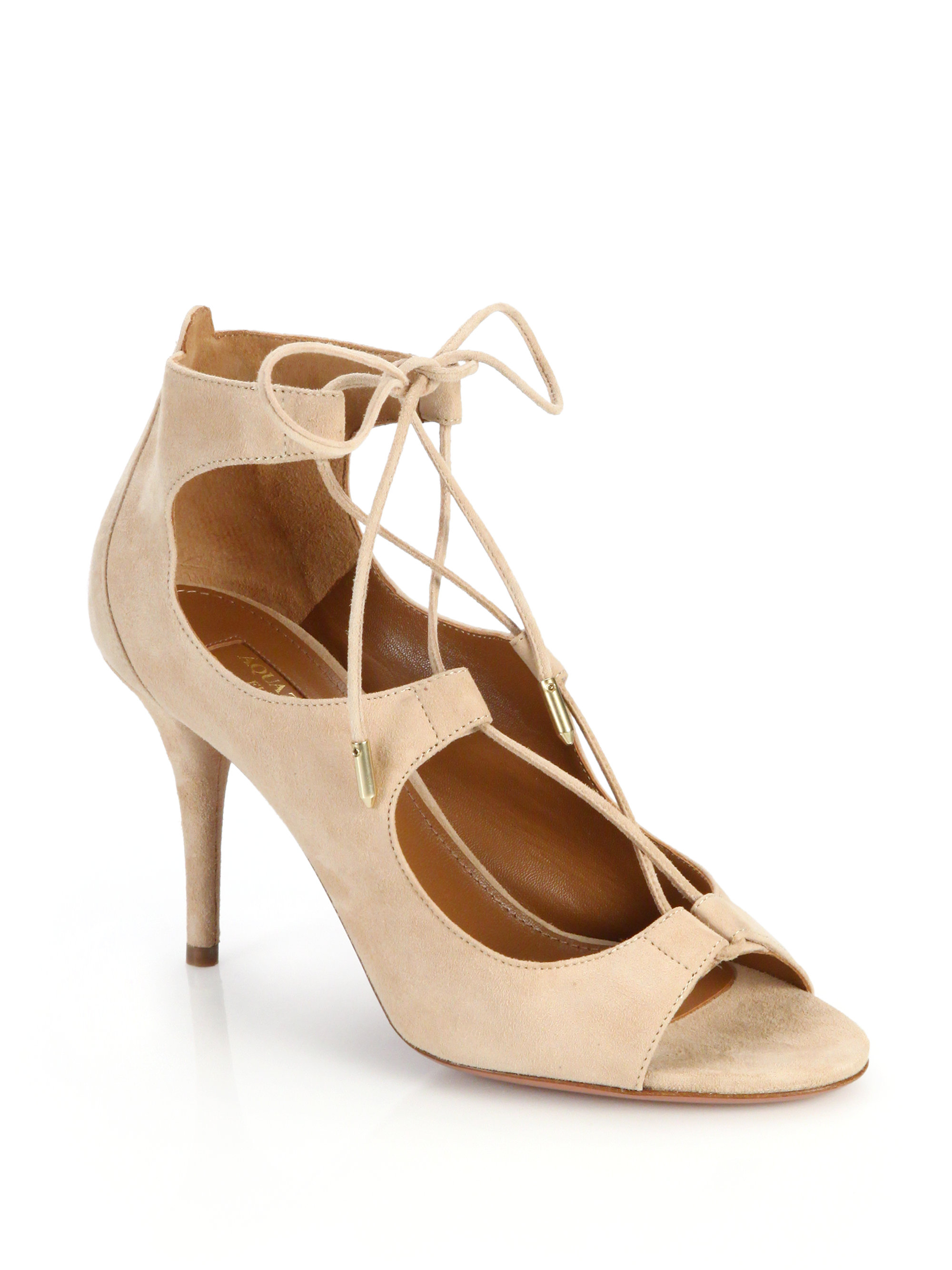 2014 newest for sale Aquazzura Peep-Toe Platform Sandals 2015 new buy cheap pre order from china free shipping best deals 50Him