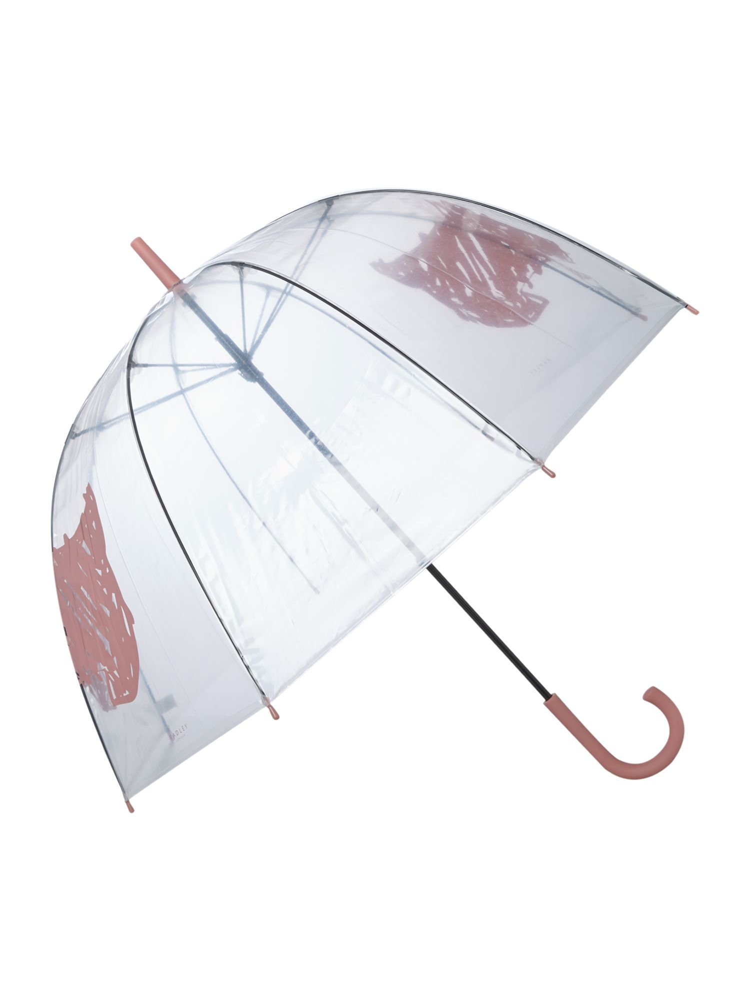 radley scribble dog birdcage umbrella in pink lyst gallery