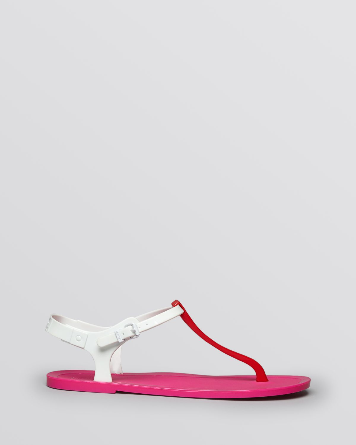 b6cf77d11bba Lyst - HUNTER Jelly Thong Sandals - Original in White