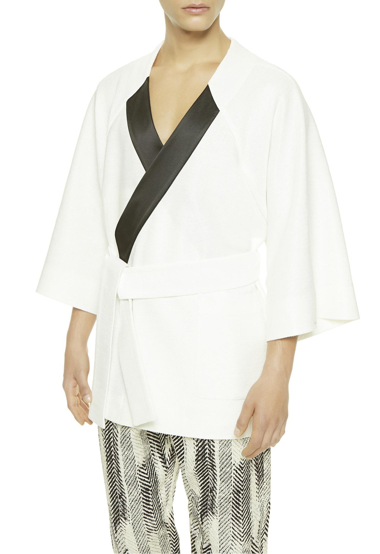 La Perla Short Kimono Night Robe In Natural For Men Lyst