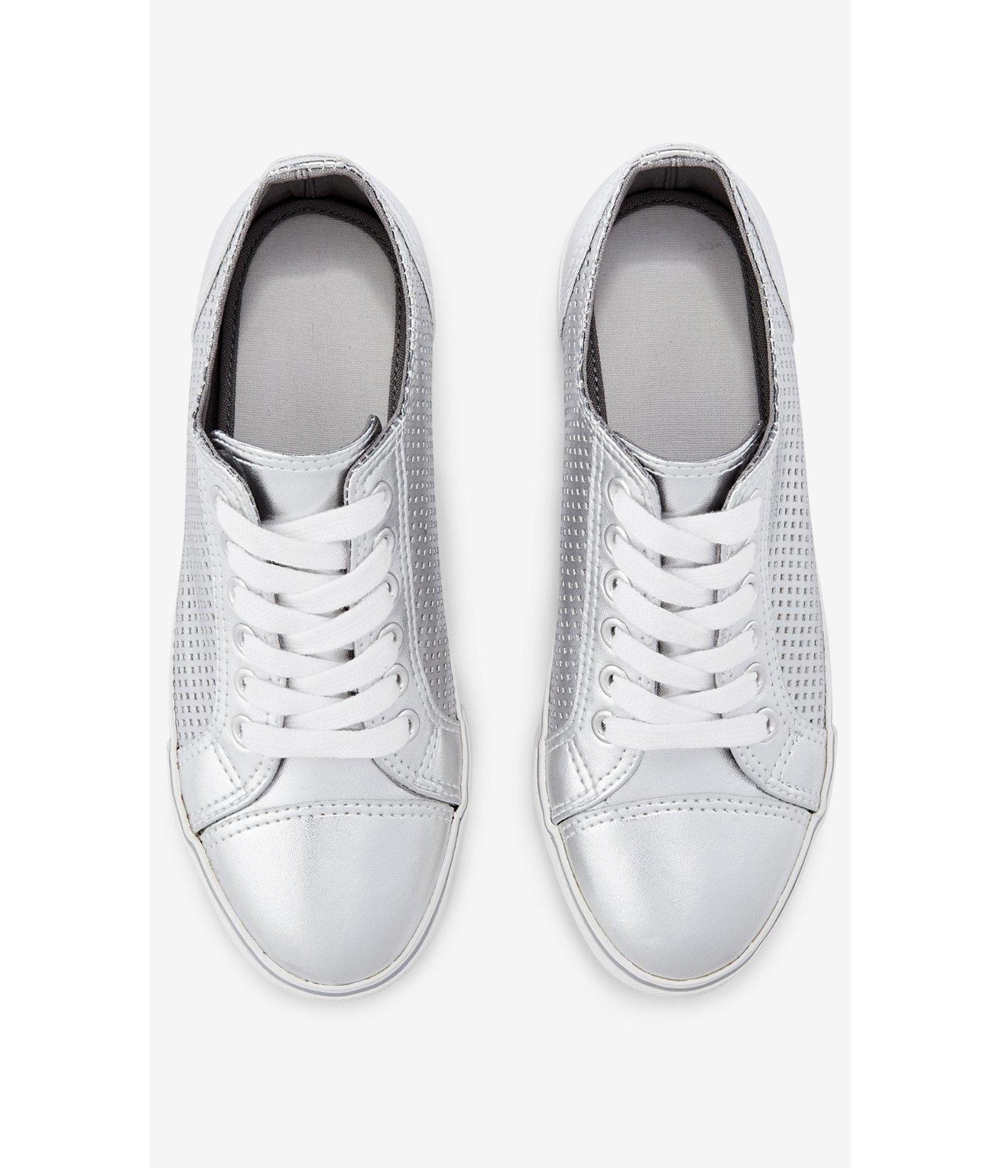 Express Metallic Perforated Sneaker