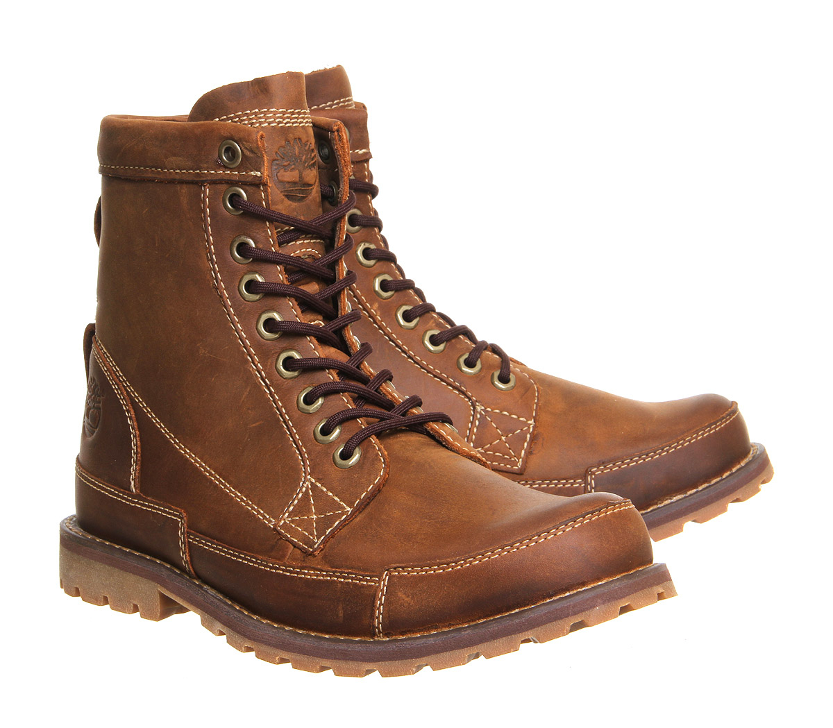 timberland earthkeeper boot in brown for lyst