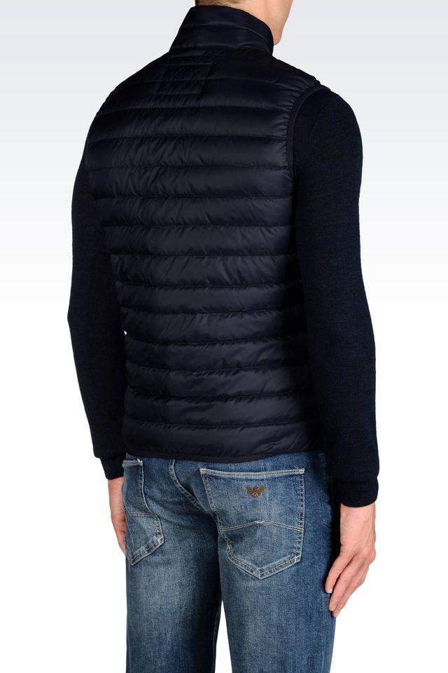 258fe373 Armani Jeans Blue Ultra Light Down Jacket for men