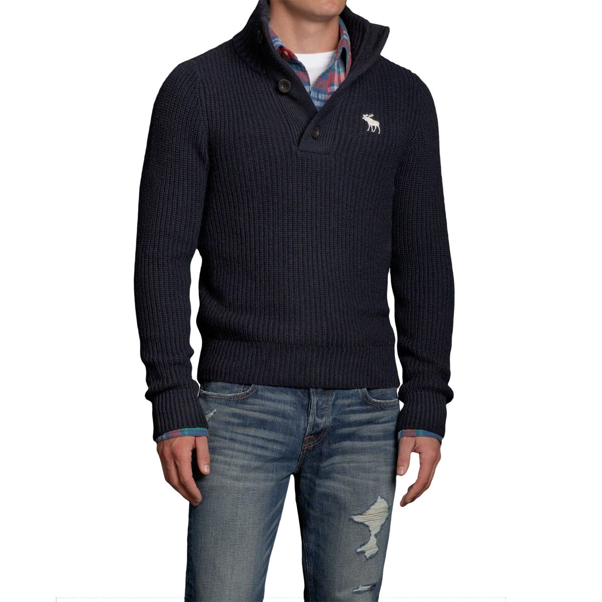 Abercrombie and fitch sweater men s