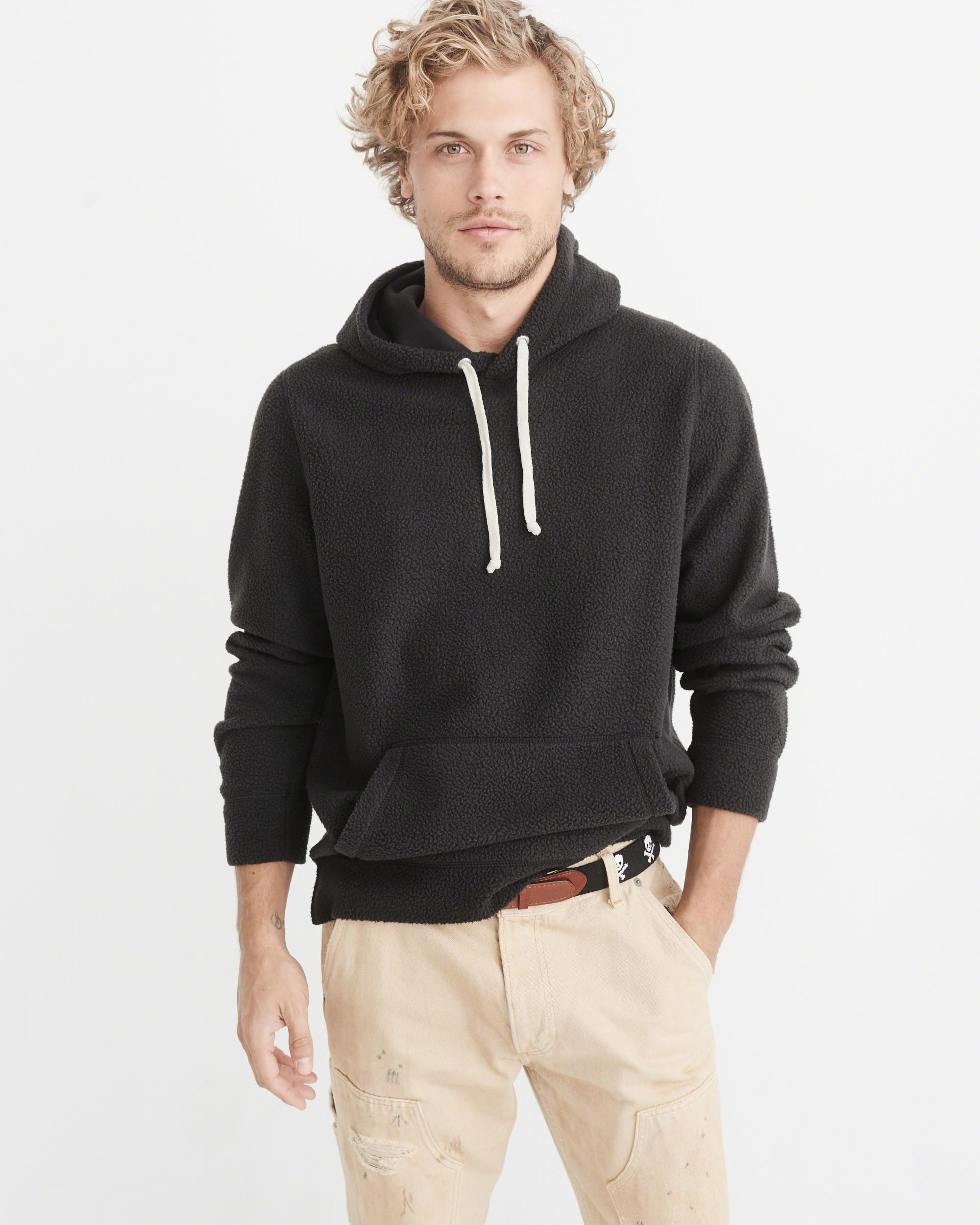 abercrombie sherpa pullover