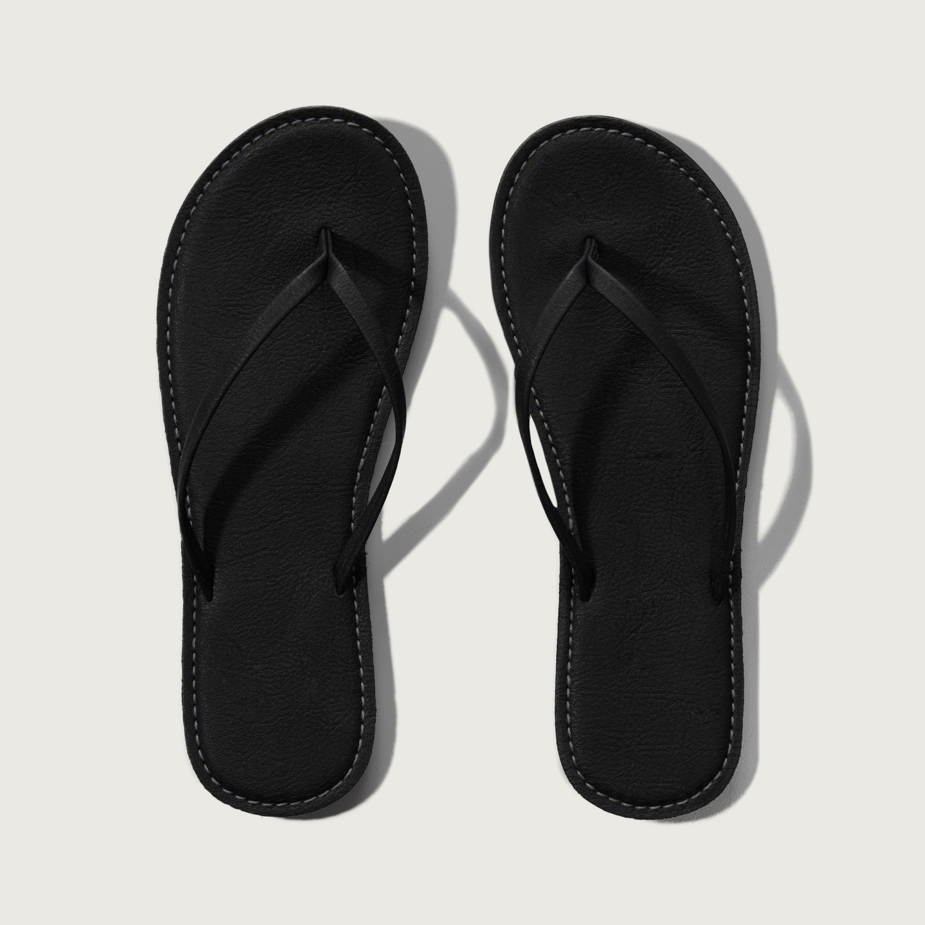 Shop Black Leather Flip Flops. Discover the latest trends at New Look.