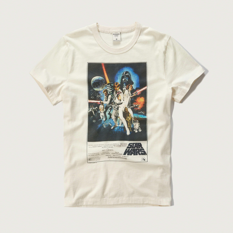 Men/'s Black T-Shirt On Target Star Wars Vintage Retro Comedy T-Shirt